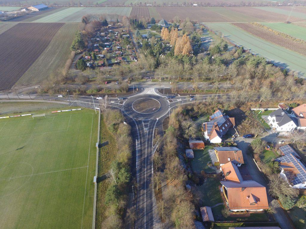 Kreisverkehr Königsbrunn