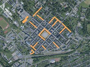 Instandsetzung historischer Stadtkern Marienberg